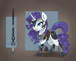 Rarity Armor by Joan-Grace