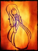 Flame Princess by Jay0Cee