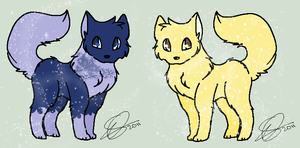 Gemstone Adopt: September and April by pandalover68