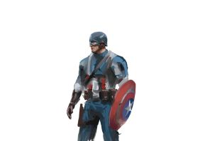 Captain America WIP 1 by MasterOfElements