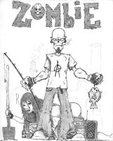 Zombie Forever by gasolinedragon