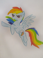 Rainbow Dash. by Joasiaaa10