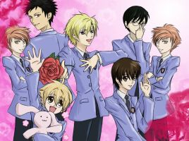 Happy Birthday Ouran Style by Alrynnas