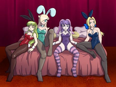 Sexy Bunnies by Furboz