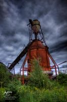 HDR Mill Silo by Nebey