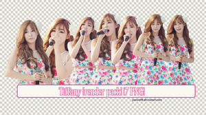 18 // Tiffany {Render Pack} [7PNG] by Pororo98
