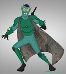 Goblin Krei - With His Mask On by Percevanche