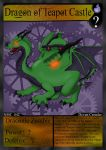 NMC - 042 - Dragon of Teapot Castle by PlayboyVampire