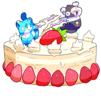 Cake fight by Pand-ASS