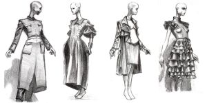 Fashion Sketches by RyanJampole