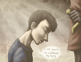 yours, my king. by LA-P