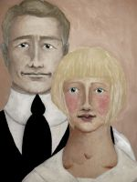 charles and angeline by Lovely-O