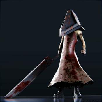 Pyramid Head by Frostuin
