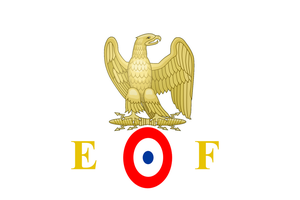 Flag of Imperial French Army by jeandulin