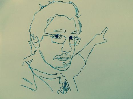 Mark pointing: Uncolored by RedSyd