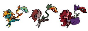 Plant Pony Adopts (CLOSED) by RevkaHunt