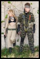 Metal Gear - Hand in Hand by Kuragiman