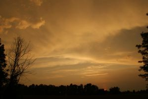 gold clouds by fontah2