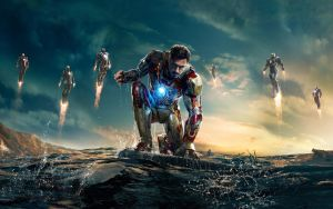 Iron Man 3 Wallpaper by lucaslima01