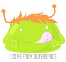 I Come From Outerspace by honeystar