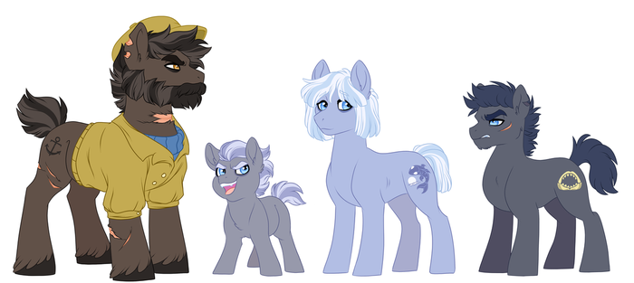 One big horrid family by Lopoddity