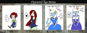 Haily the Queen: Age Meme by orchidi