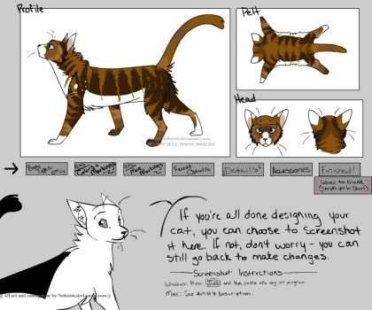 Silentsong Warrior Cats Reff sheet by w33kday