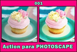 Action 001 para PSC - Cupcake by LuuEditions16