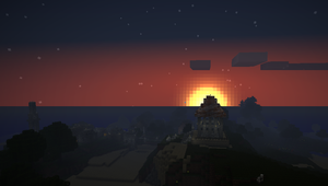 Sunrise over Gallington by AaronMk