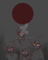 APH: Ghosts by Evelynism