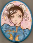 chun li portrait by maddened-pooka