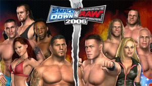WWE Smackdown vs. Raw 2006 by CSDWallpapers