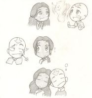 kataang doodles by PurplGoddess565