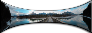 Bridge Over the Columbia River 6 Picture Panorama by Joe-Lynn-Design