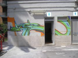 Graffiti in Italy by djn8