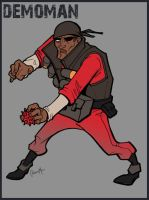 TF2 Demoman by Liabra
