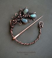 BROOCH-FIBULA by KL-WireDream