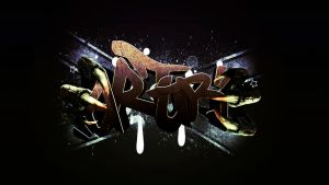 Graffiti for my friend :) by PatrickFX