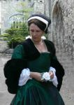 Tudor  gown and partlet Hathaways by Hathaways
