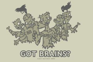 Mmmm Brains by cronobreaker