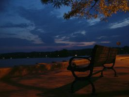 Nice night to sit and relax by shod