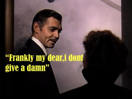 frankly my dear,i dont give a damn by Artfreakgal21