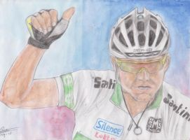 Cadel Evans by Leeuwtje