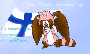 Happy  Finland's Independence Day! by Phewmonster