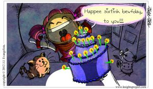 Amok's Birthday Wish by HandOfRel