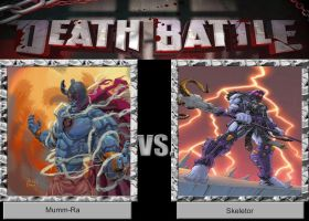 DEATH BATTLE Idea Mumm-Ra vs Skeletor by JefimusPrime