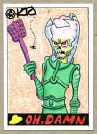 Mars Attacks sketch 2 by SquirrelyThings