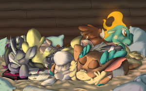 Them's Fightin' Herds: Victory Nap by firefanatic