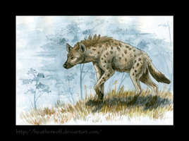 Hyena by HeatherWolf