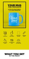 Your Mug - PSD Mockup by coloformia